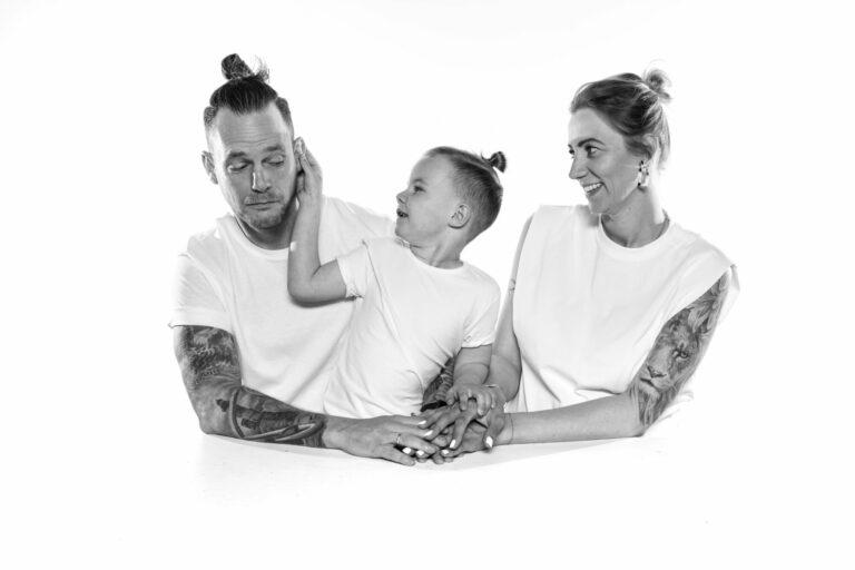 Familienportrait highkey