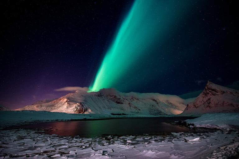 Aurora Borealis -Nordlicht