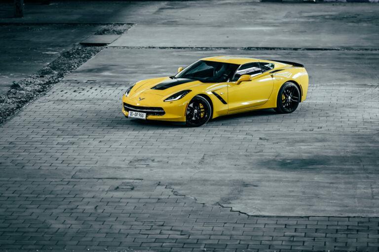 Autofotografie Corvette C7 Stingray